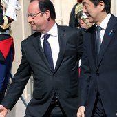 Communiqué de presse conjoint franco-japonais à l'occasion de la visite du Premier ministre Shinzo Abe en France