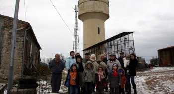 Les riverains de « Dretchenc » se mobilisent contre l'implantation d'antennes-relais. Photo T.A.