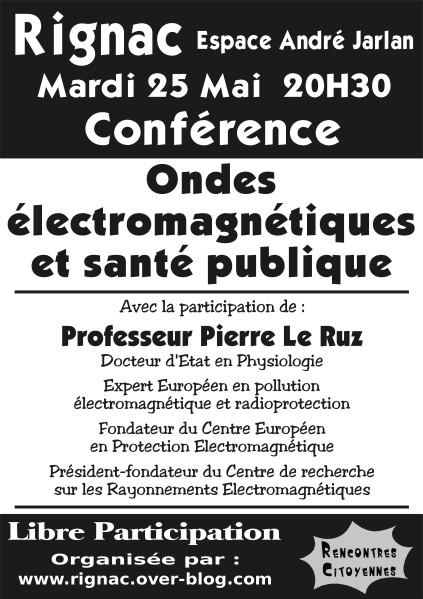 RIGNAC : conférence exceptionnelle sur les effets des ondes électromagnétiques
