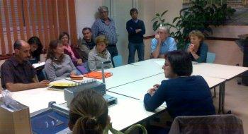 La municipalité recevait lundi le collectif contre le projet d'antenne-relais. / Photo DDM, M. N.