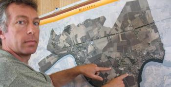 Le maire de Rivières a été mis devant le fait accompli et ET n'a pu s'opposer à l'installation de l'antenne./Photo DDM.