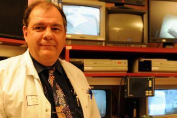 Michel Tiberge, médecin spécialiste des troubles du sommeil à l'hôpital Rangueil./DDM Nathalie Saint-Affre