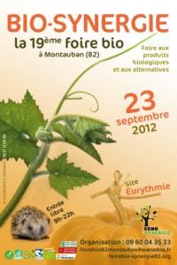 Montauban : La foire BIO-SYNERGIE se tiendra le dimanche 23 septembre 2012. A cette occasion Antennes 31 donnera une conférence débat sur le thème «Téléphonie mobile et santé» de 14 h à 15h30