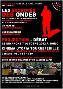 Projection-Débat : le dimanche 7 octobre 2012 à 10 heures au cinéma UTOPIA à Tournefeuille