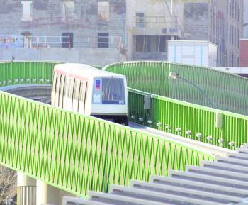 Le métro a « sauté » les stations Argoulets et Roseraie avant d'être stoppé manuellement à Jolimont./Photo DDM-archives-Xavier de Fenoyl ()