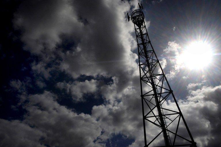 Une antenne relais, dans le Finistère, en 2009.