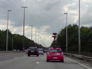 La Google Car enregistre aussi votre réseau WiFi